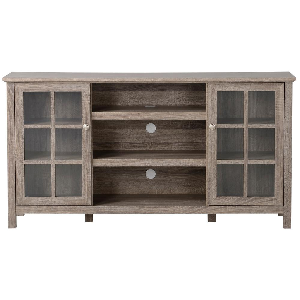Genial FLAMELUX Provence Reclaimed Wood Entertainment Center