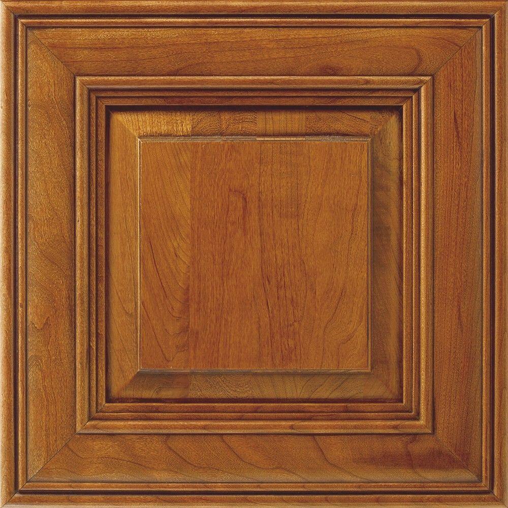 null 14.5x14.5 in. Cabinet Door Sample in Camden Whiskey Black