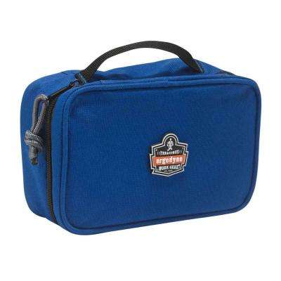 Arsenal 2-Compartment Small Parts Organizer Blue
