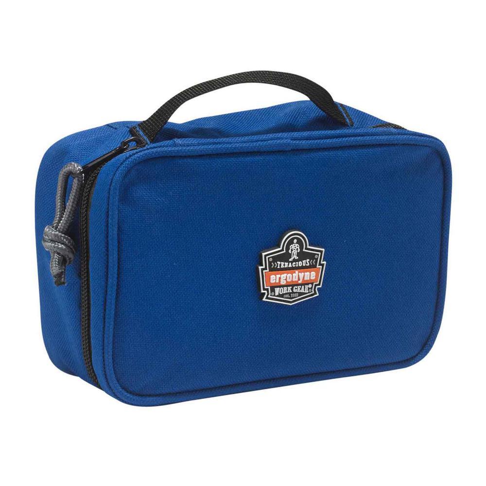 Arsenal 2-Compartment Small Parts Organizer Blue