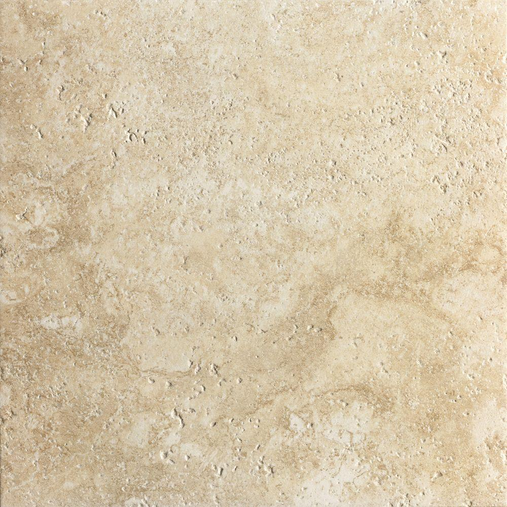 Marazzi artea stone 13 in x 13 in avorio porcelain floor and wall tile 17 9 sq ft case Ceramic stone tile