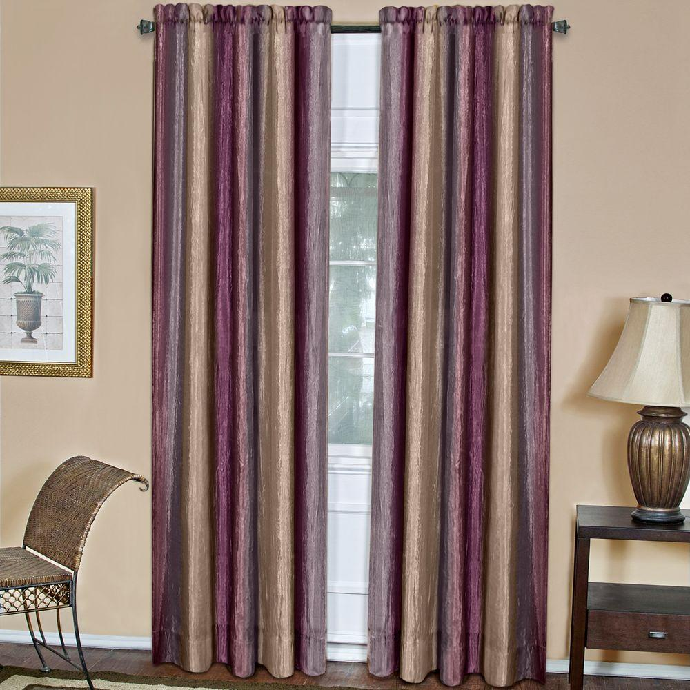 Achim Semi-Opaque Ombre 50 in. W x 84 in. L Curtain Panel in ... on jcpenney floor pillows, jcpenney floor lamps, jcpenney floor rugs,