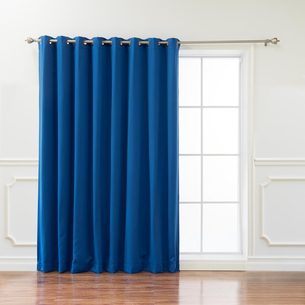Best Home Fashion Wide Basic 100 In W X 96 L Blackout Curtain