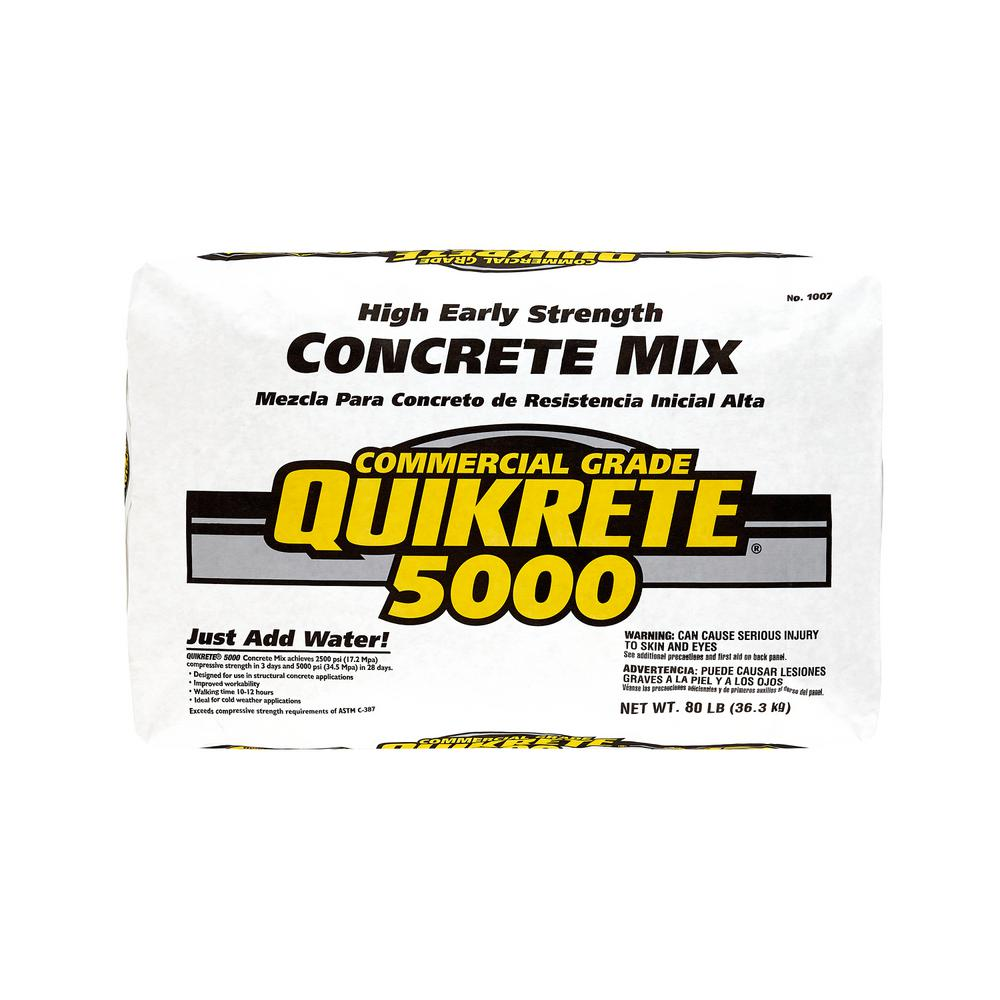 N 80 lb. High Early Strength Concrete Mix