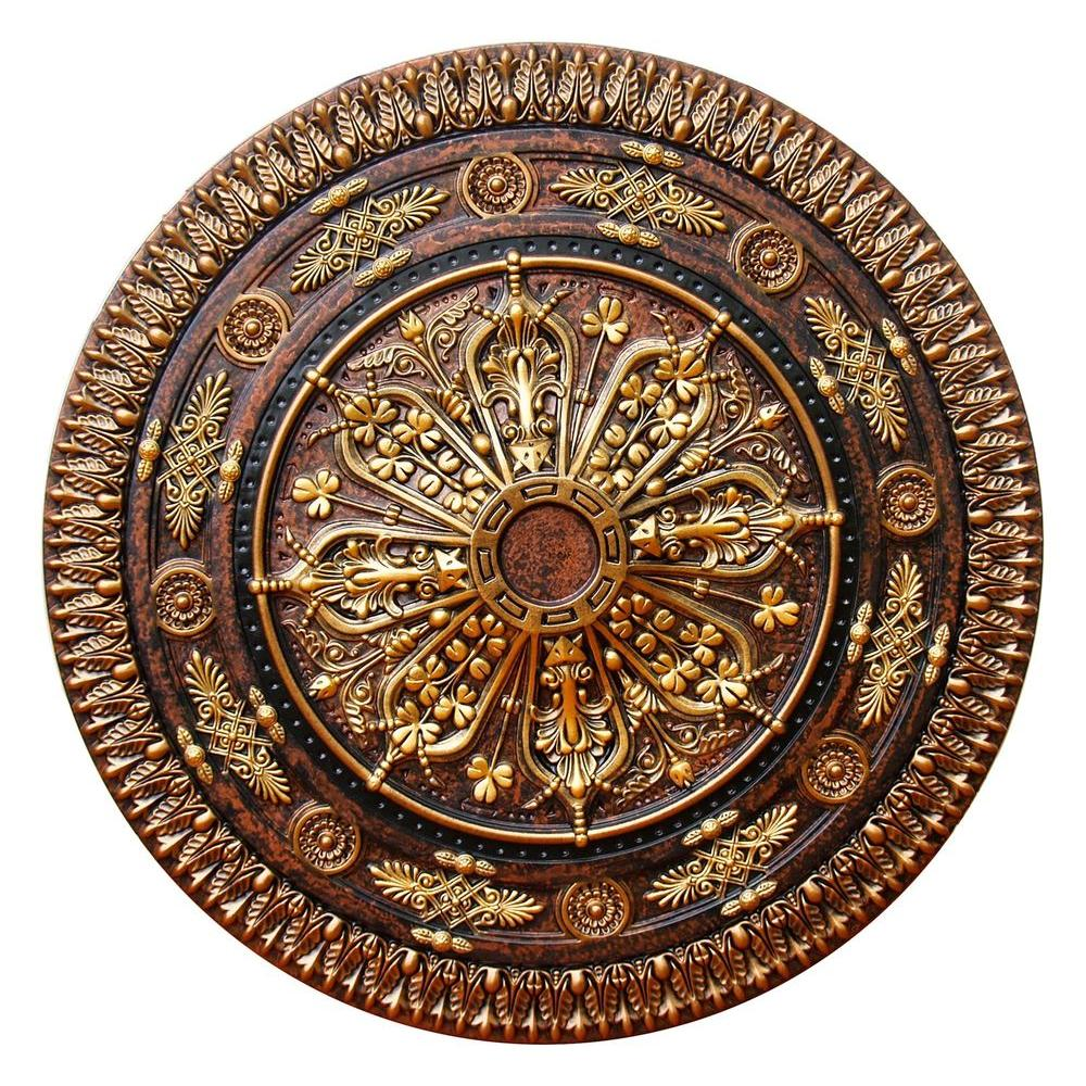 this classic roman wide bronze check ceiling by pin brass medallion awesome product