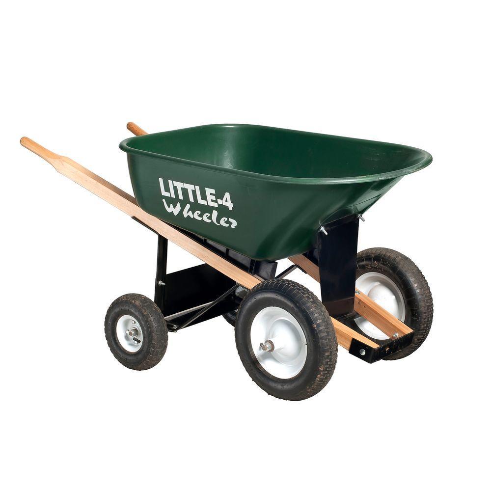 6 Cu Ft Heavy Duty Wheelbarrow B4w 6 The Home Depot