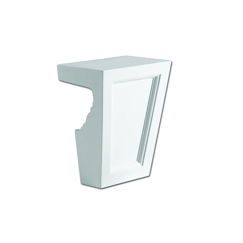 5-3/4 in. x 7 in. Polyurethane Recessed Panel Keystone Fits 6