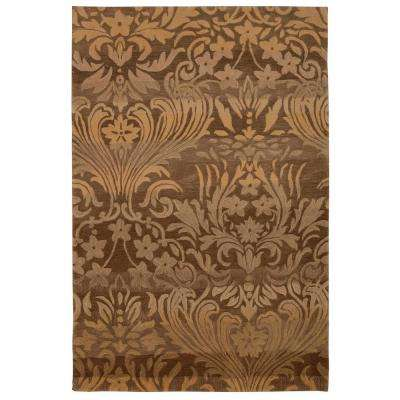 Contour Latte 5 ft. x 7 ft. 6 in. Area Rug