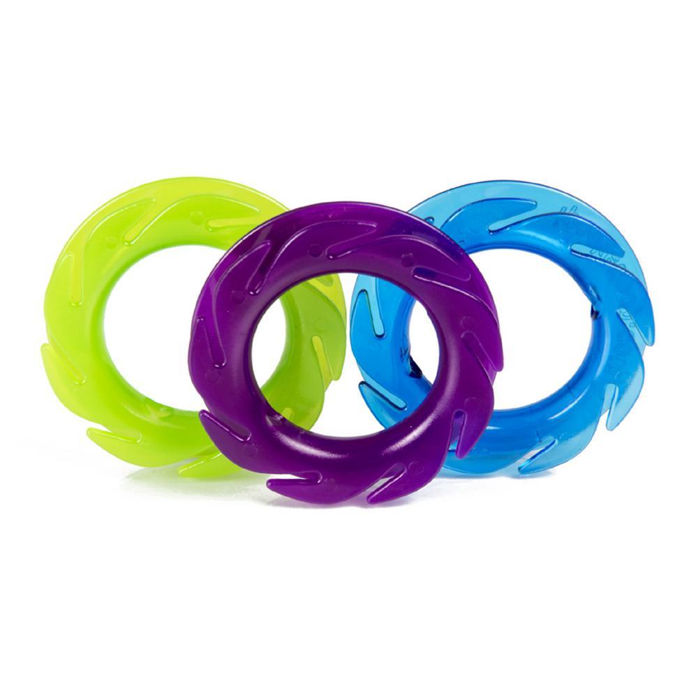 Cord Management, Blue/Lime/Purple