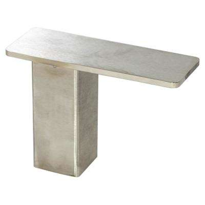Stonehaven 7 in. x 5 in. Stainless Steel Countertop Stand Off Post Support