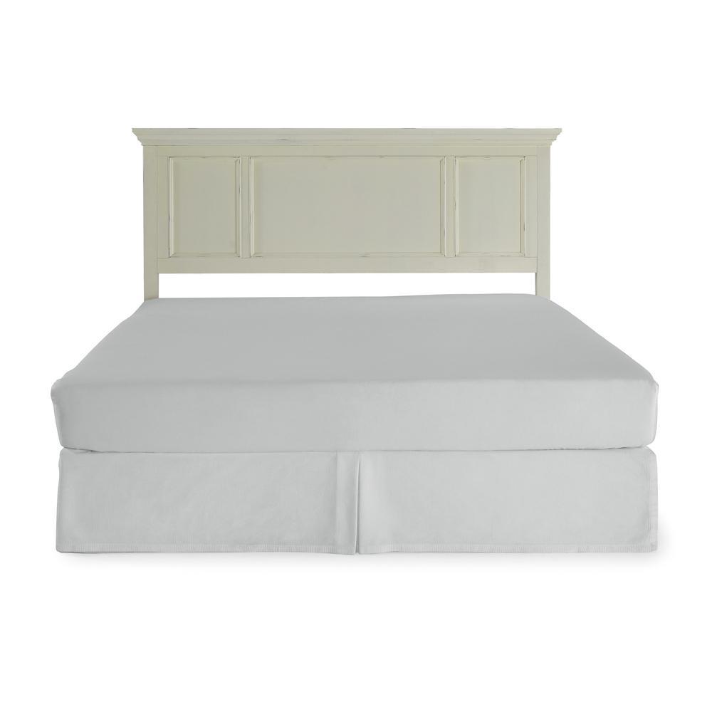 Dover 1-Piece White King Bedroom Set