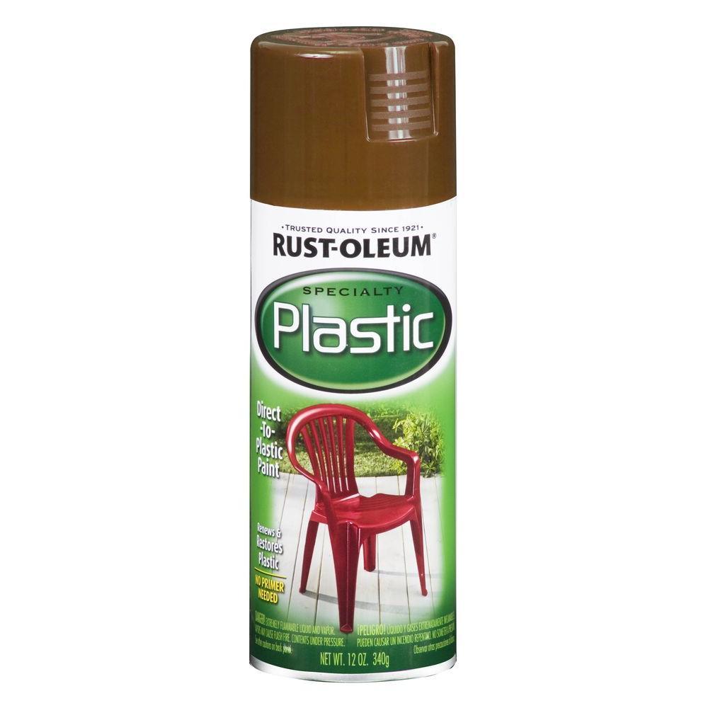 Rust-Oleum Specialty 12 oz. Espresso Paint for Plastic Spray Paint (Case of 6)