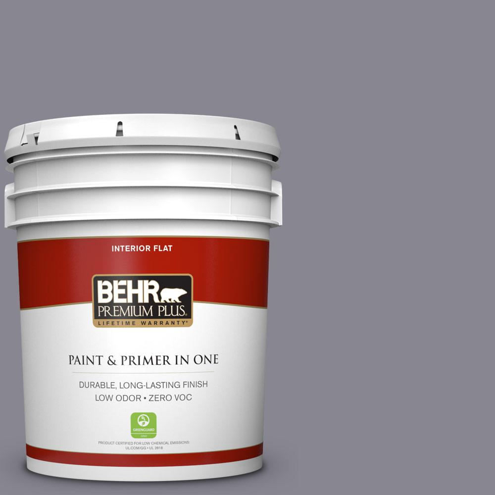 BEHR Premium Plus 5-gal. #N550-5 Box Office Flat Interior Paint