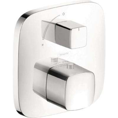 PuraVida Thermostatic Trim with Volume Control in Chrome (Valve Not Included)