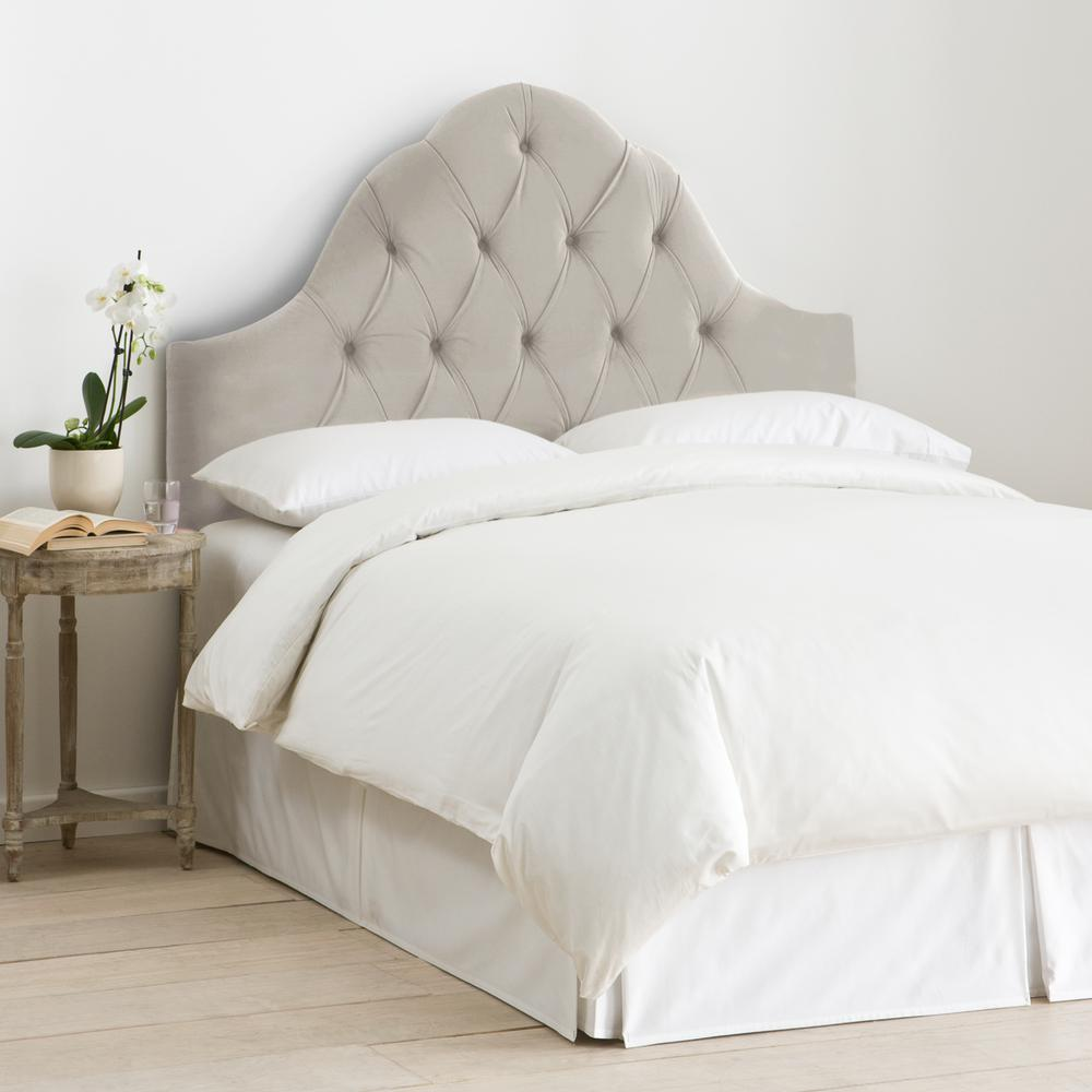 images elegant bed queen archived on headboard category grey with of luxury tricountyrealtywi wingback fabric dark furniture post linen double gray upholstered