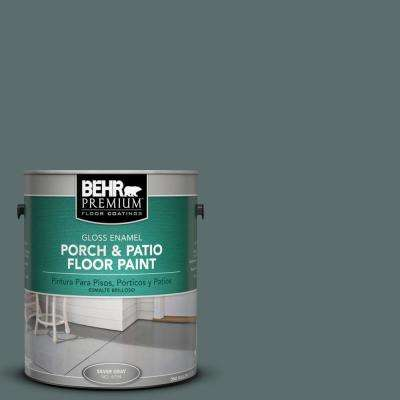 1 gal. #PPU12-19 Mountain Pine Gloss Porch and Patio Floor Paint