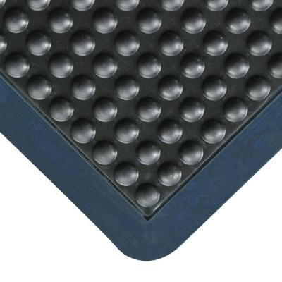 Bubble-Top 5/8 in. x 36 in. x 48 in. Anti-Fatigue Matting Black Borders