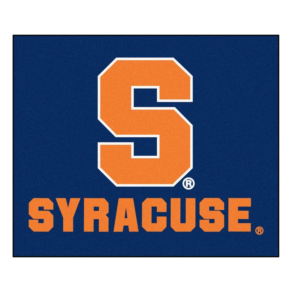 FANMATS Syracuse University 5 ft. x 6 ft. Tailgater Rug