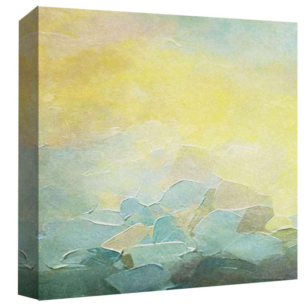 PTM Images 15 in. x 15 in. \'\'Sunset\'\' By PTM Images Printed Canvas ...