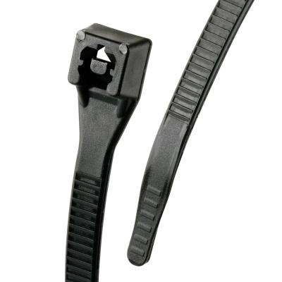 Xtreme 8 in. Cable Tie, Black 50 lb. 20-Pack (Case of 10)
