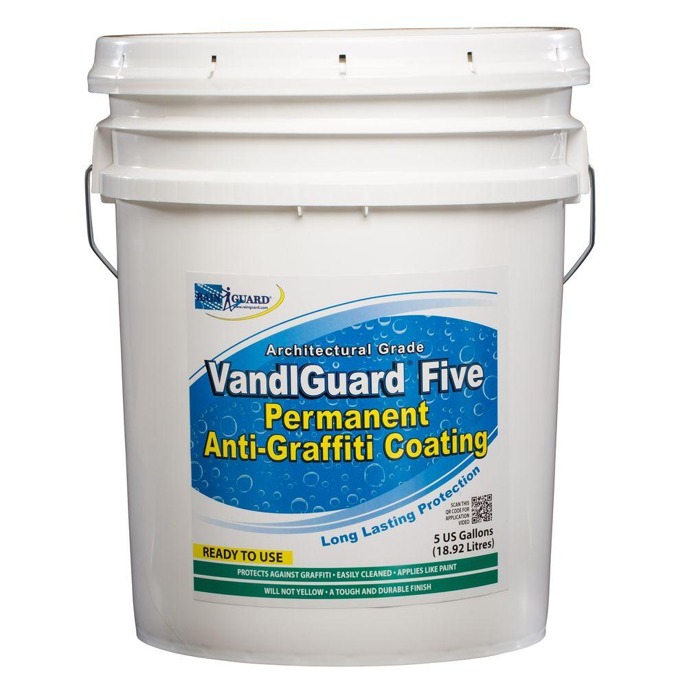 RAIN GUARD VandlSystem 5-gal. VandlGuard Five Non-Sacrificial Anti-Graffiti Coating