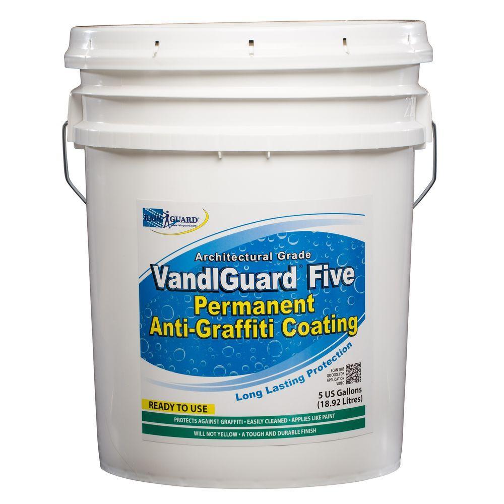 VandlSystem 5-gal. VandlGuard Five Non-Sacrificial Anti-Graffiti Coating