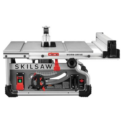 15 Amp 8-1/4 in. Portable Worm Drive Table Saw