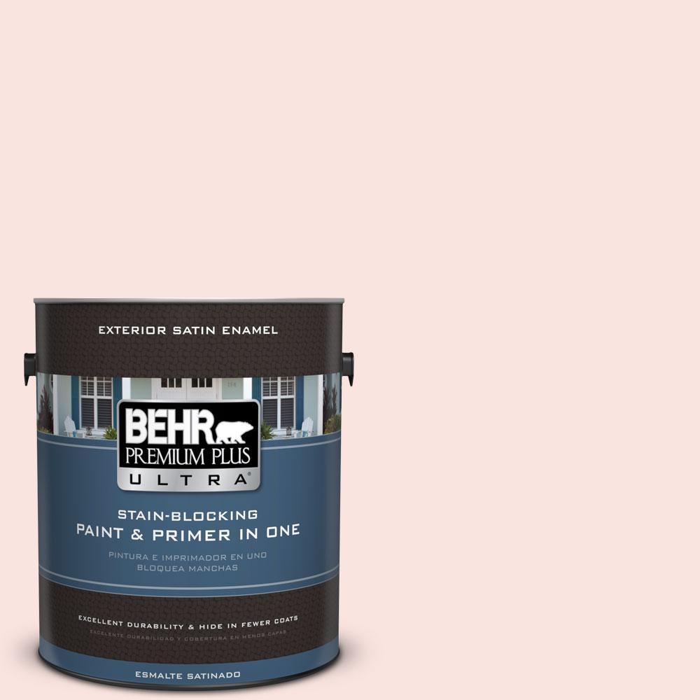 BEHR Premium Plus Ultra 1-gal. #170C-1 Berry Cheesecake Satin Enamel Exterior Paint
