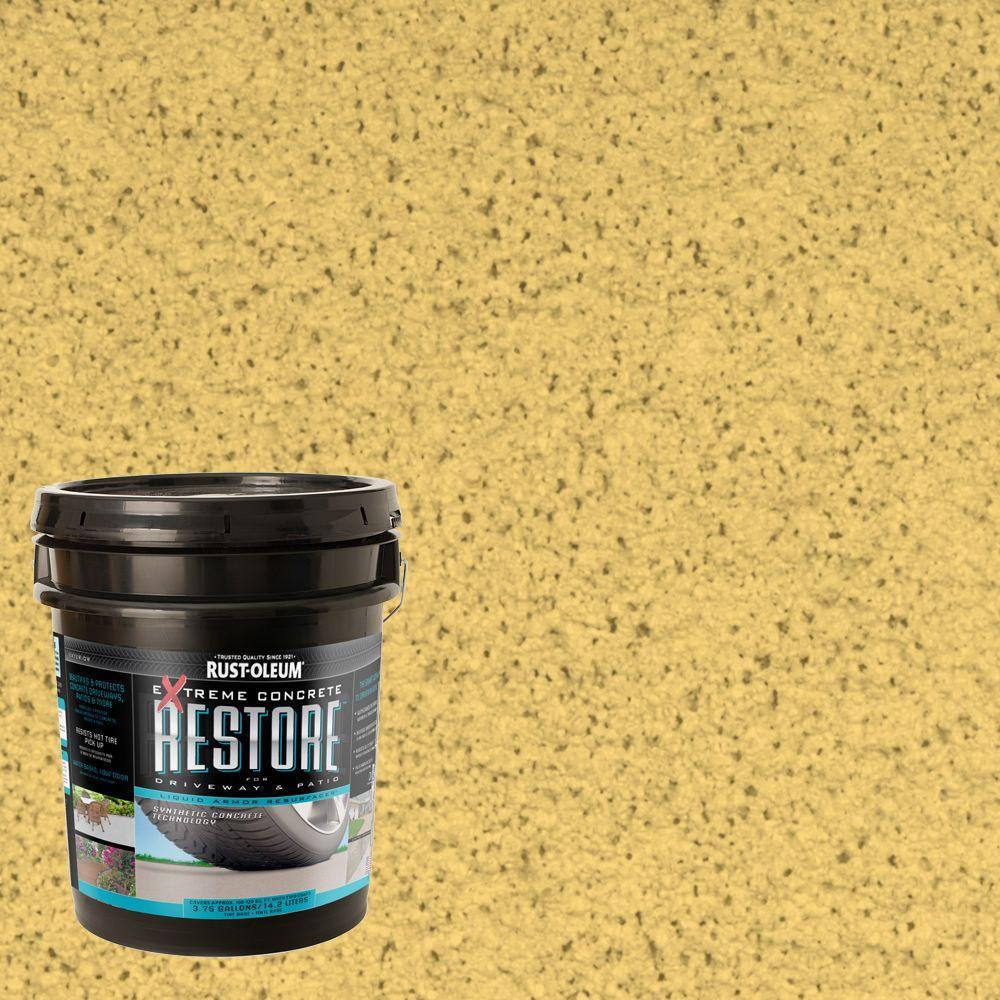 Rust-Oleum Restore 4 gal. Maize Liquid Armor Resurfacer
