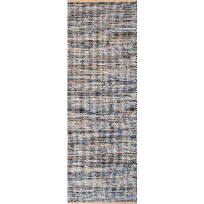 Vernell Contemporary Jute Natural 3 ft. x 8 ft. Runner