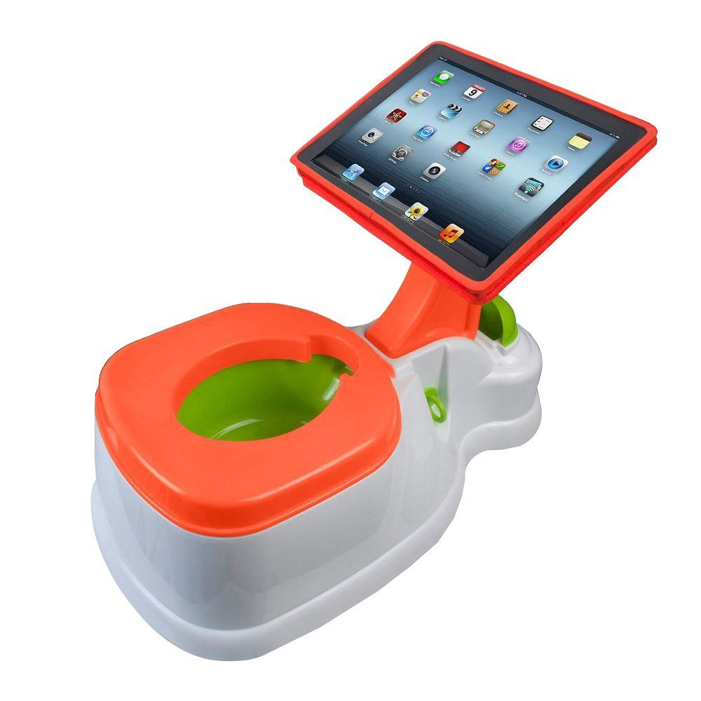 2-in-1 Electric iPotty with Activity Seat for iPad Waterless Toilet