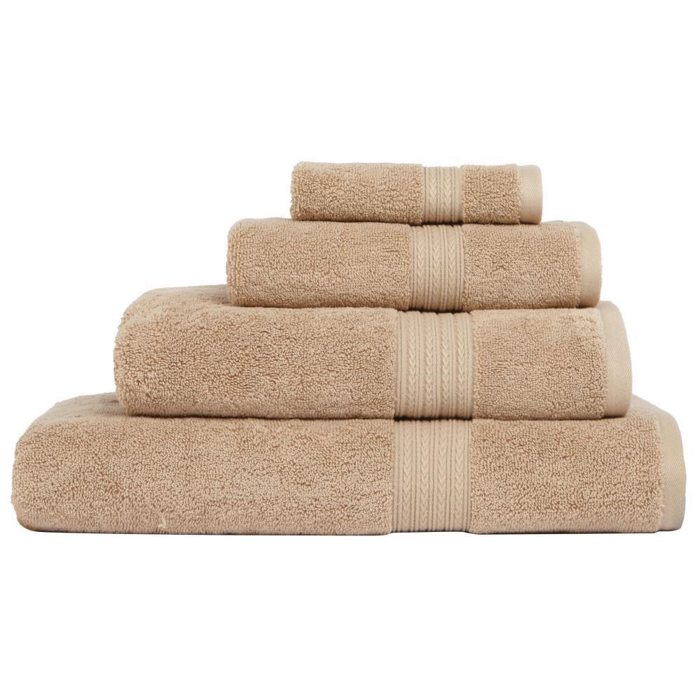 Home Decorators Collection Newport 1 Piece Bath Towel In Linen 9854920830 The Home Depot