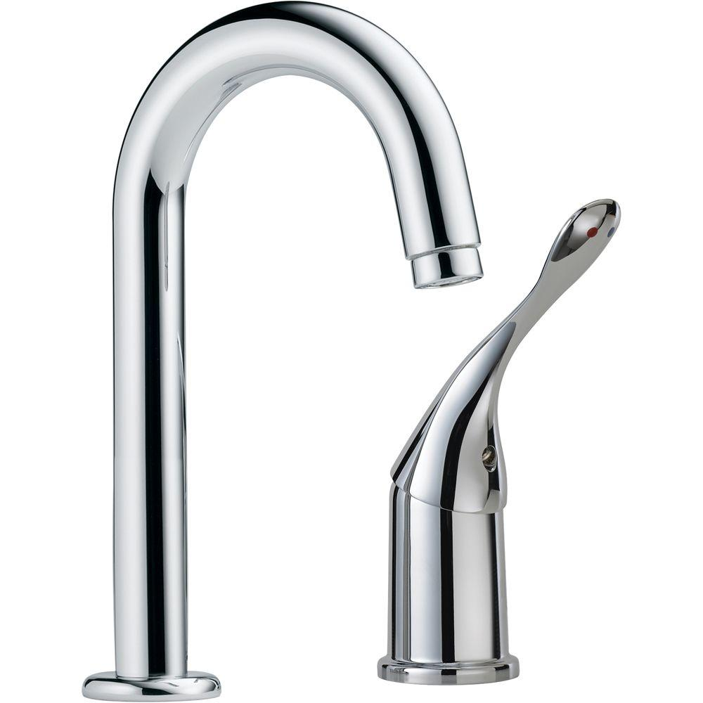 Commercial Single-Handle Bar Faucet in Chrome