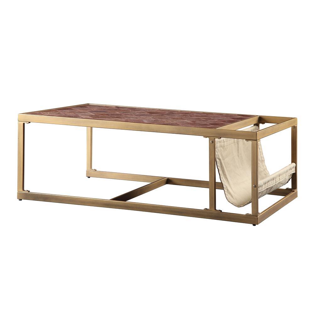 Wondrous Acme Furniture Genevieve Retro Brown Top Grain Leather Cjindustries Chair Design For Home Cjindustriesco