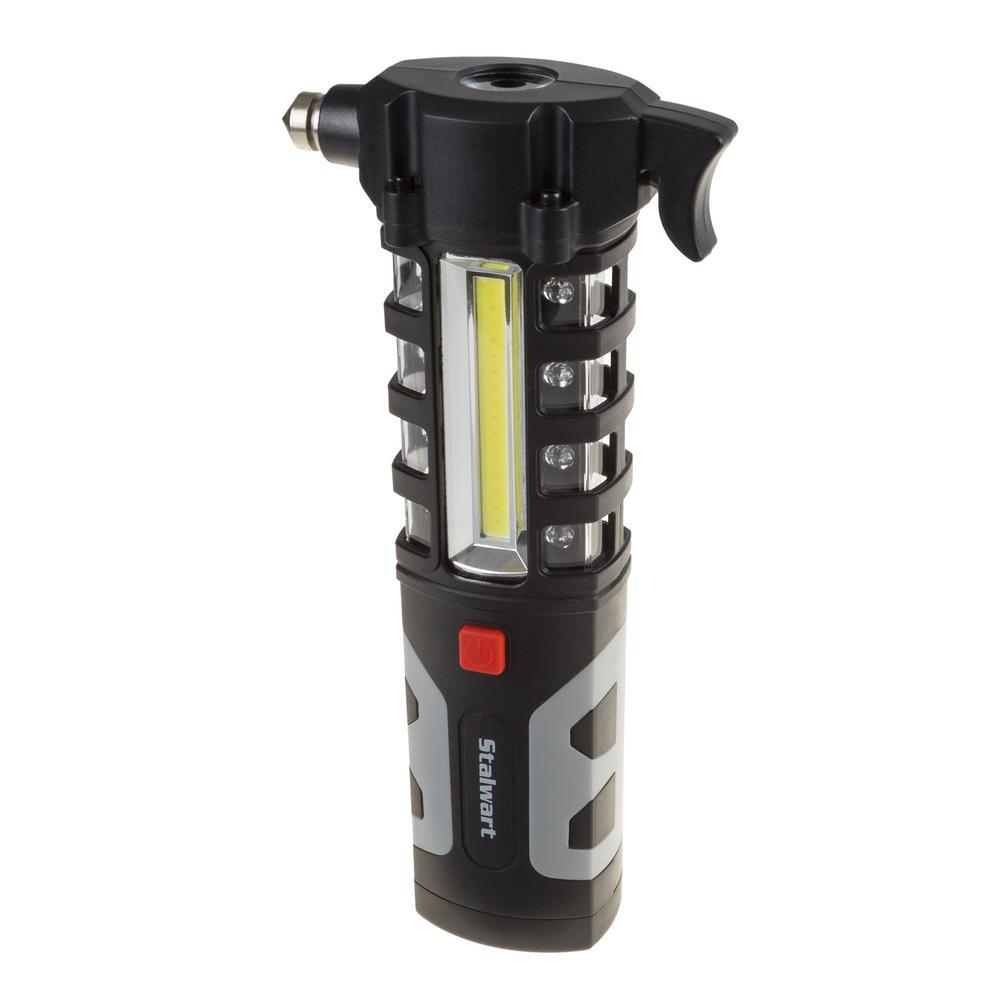 LED Flashlight and Emergency Auto Escape Tool
