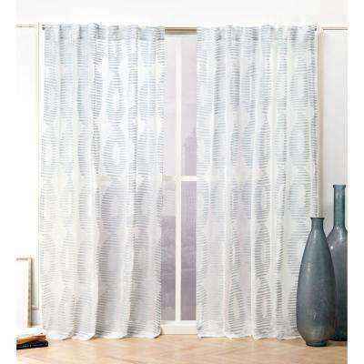 Denim Window Treatments The Home Depot