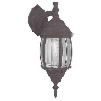 Wolter 1-Light Oil-Rubbed Bronze Outdoor Wall Lantern