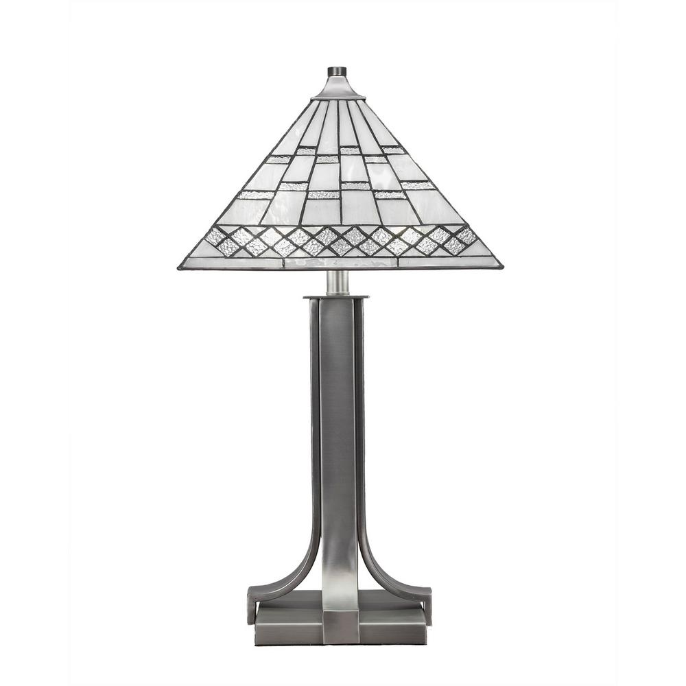 Cambridge 2-Light 24.75 in. Graphite Table Lamp