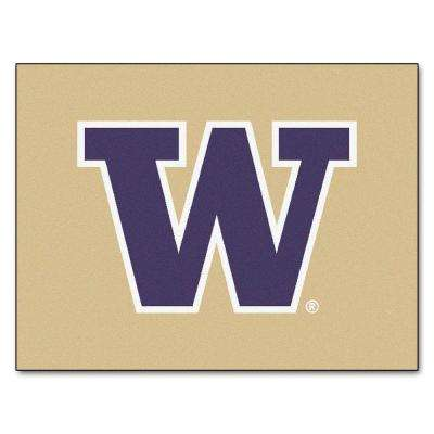 University of Washington 3 ft. x 4 ft. All-Star Rug