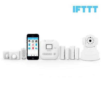 Wireless Alarm, Camera Deluxe Security System - Echo Alexa and IFTTT compatible