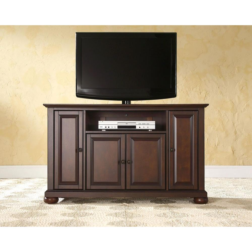 Crosley Alexandria Mahogany Entertainment Center