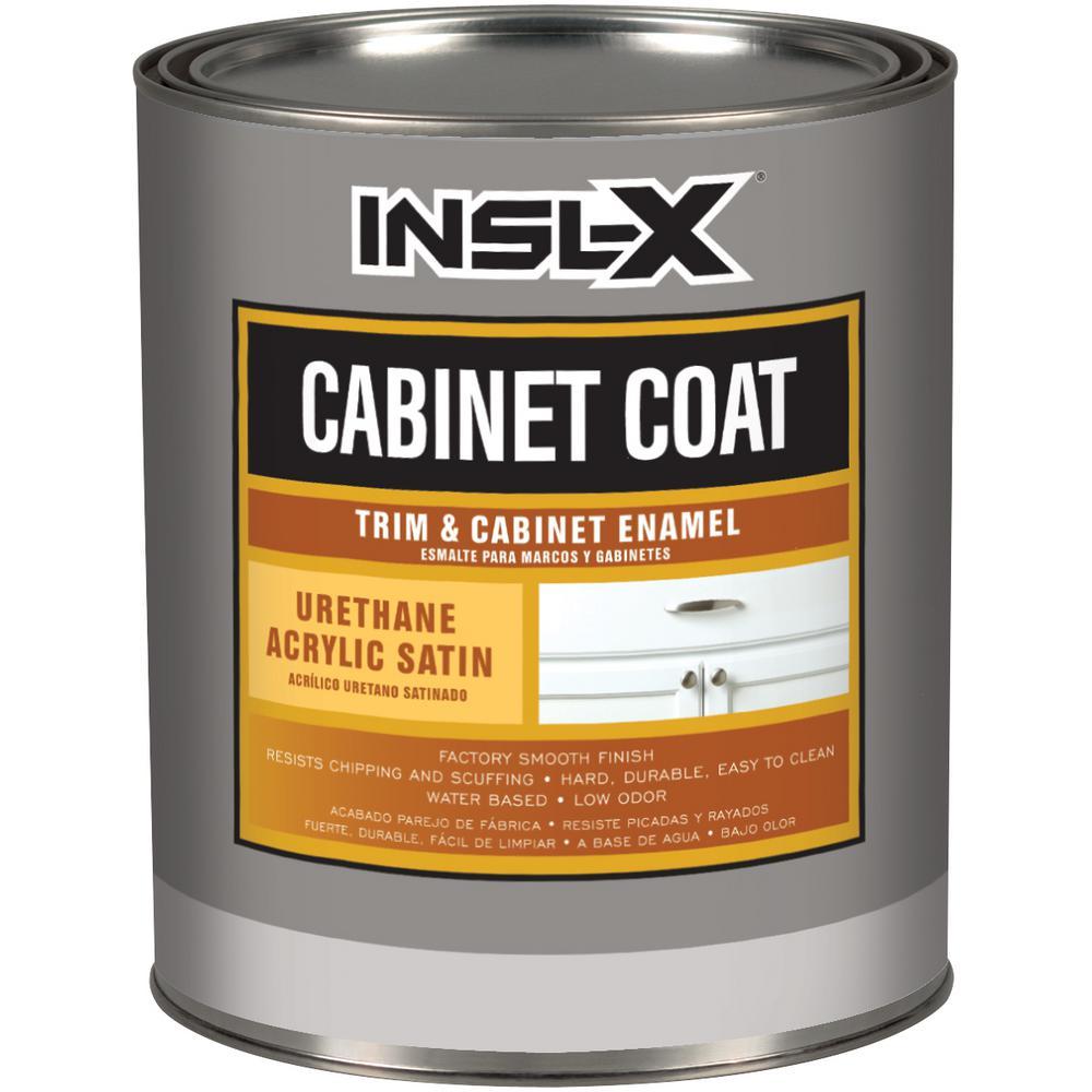 Insl-x, Quart, White, Satin, Cabinet Coat