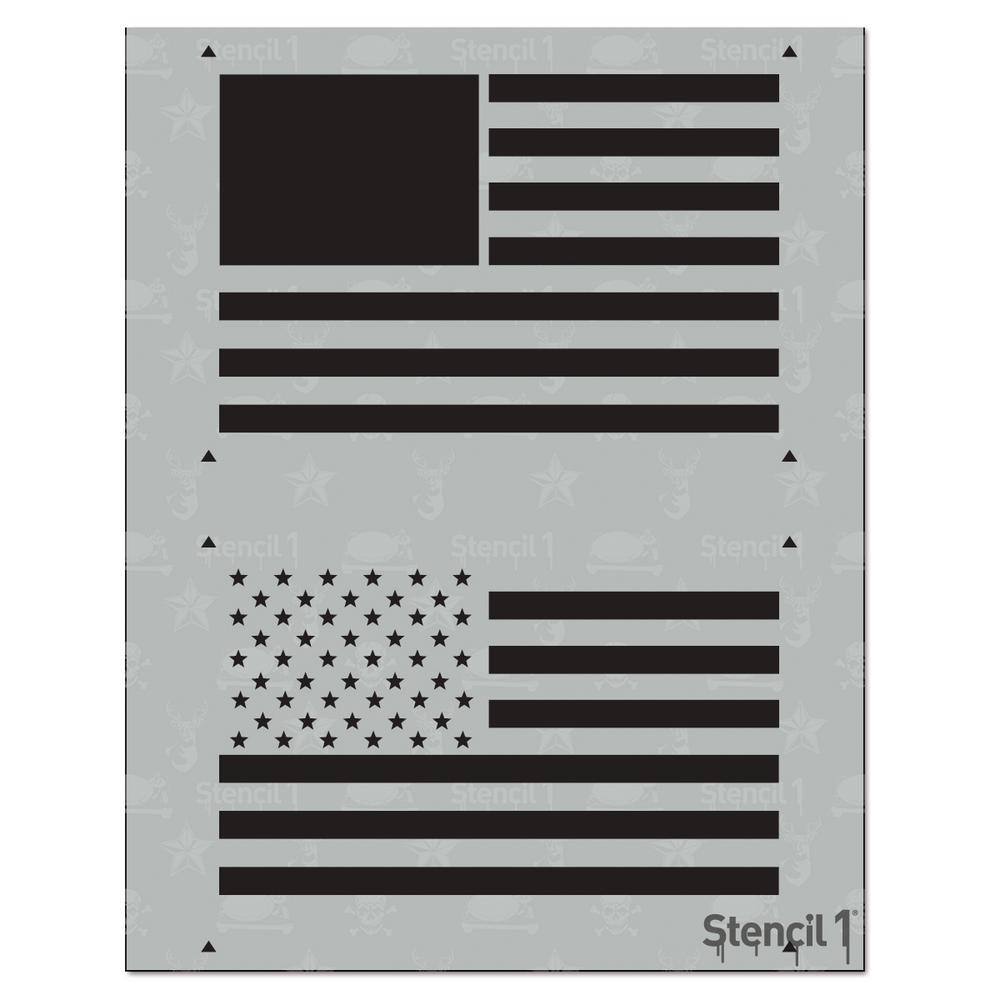 9b29fc551abb Stencil1 American Flag 2 Layer Stencil-S1 2L 05 - The Home Depot