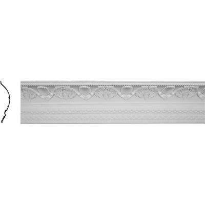 14-1/8 in. x 16-3/8 in. x 96-1/8 in. Polyurethane Cove Harvest Crown Moulding
