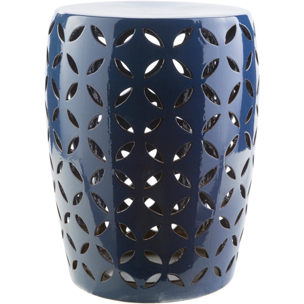 Artistic Weavers Araceli Cobalt Garden Stool S00151052042
