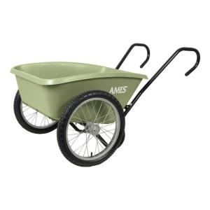 Click here to buy Ames 5 cu. ft. Total Control Garden Cart by Ames.