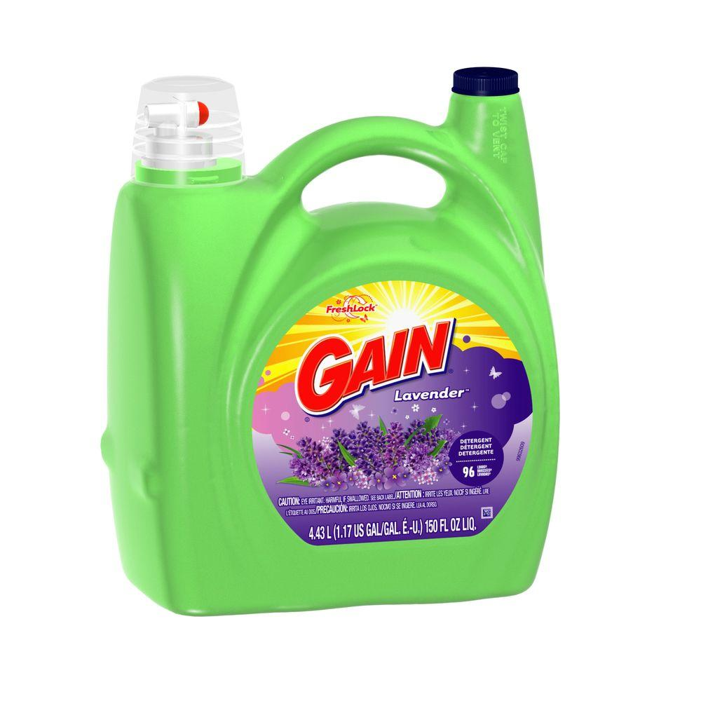 spring lavender he liquid laundry detergent 96 the home depot