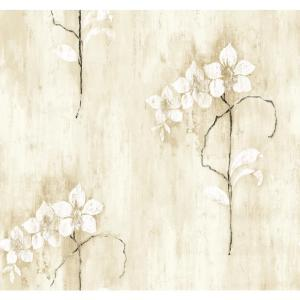 York Wallcoverings Orchid Kaju Wallpaper by York Wallcoverings