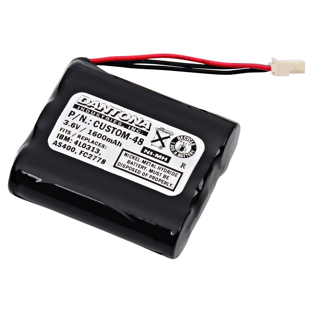Dantona 3.6-Volt 1600 mAh Ni-Cd battery for IBM - FC2778 Emergency