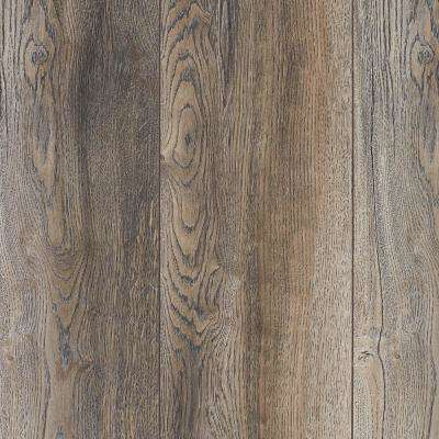 Take Home Sample -Water Resistant EIR Montrose Oak Oak 12 mm Laminate Flooring - 5 in. x 7 in.